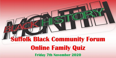 Black History Online Quiz tickets