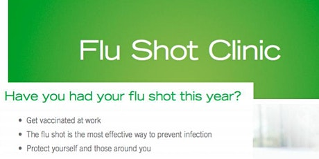 Interest for On-Site Private Flu Clinic (Thur, Oct29 at 885 Granville) tickets