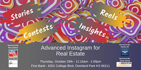 Advanced Instagram for Real Estate tickets