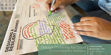Design Thinking for Good tickets