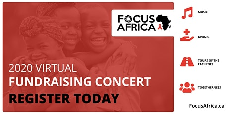 Virtual Fundraising Concert tickets