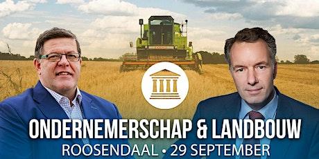 Ondernemerschap & Landbouw tickets