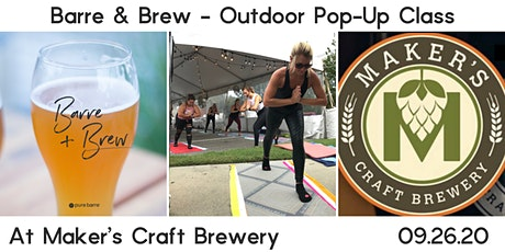 Octoberfest Barre & Brew Outdoor Pop-Up At Maker's Craft Brewery tickets