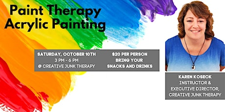 Paint Therapy - Acrylic Painting tickets