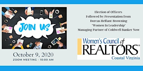 "Election & ""Women in Leadership"" Presentation by Dorcas T. Helfant-Browning tickets"