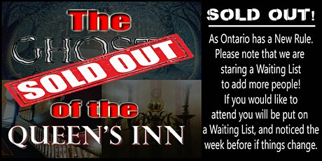 The Ghosts of the Queens Spiritual Workshop & Ghost Hunt tickets
