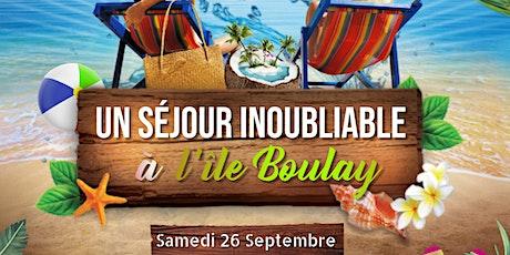 UN SÉJOUR INOUBLIABLE À LA BAIE DES MILLIARDAIRES (l'Ile Boulay ) billets