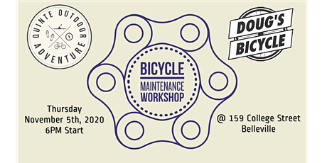 Bike Maintenance Workshop hosted by Doug's Bicycle tickets
