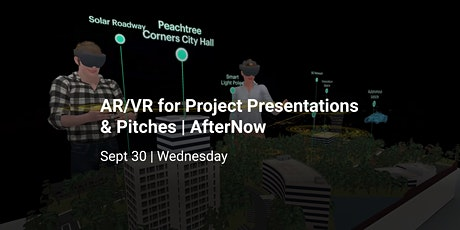 How to Use AR/VR for Presentations & Pitches tickets