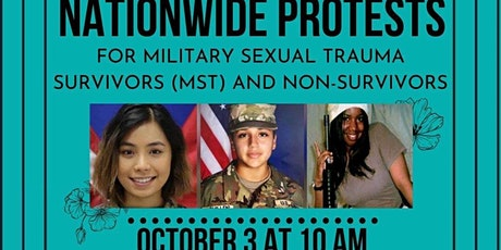 Nationwide Protest for Military Sexual Trauma  tickets