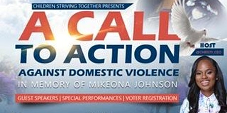 A Call To Action Against Domestic Violence tickets