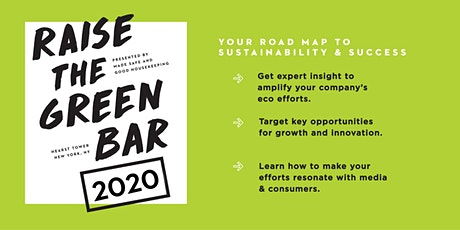 Raise the Green Bar 2020: Your Roadmap to Sustainability & Success tickets