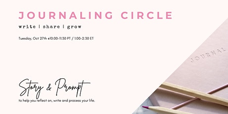 Journaling Circle tickets