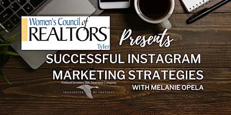 Successful Instagram Strategies CE Class 1 HR. tickets