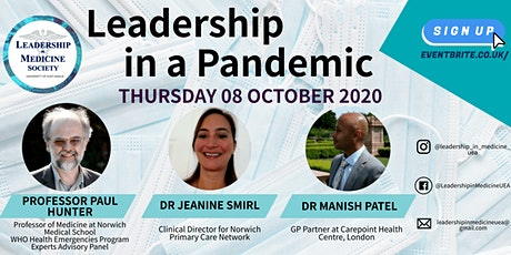 Leadership in a Pandemic tickets