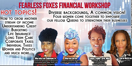 The Fearless Foxes Financial Workshop tickets