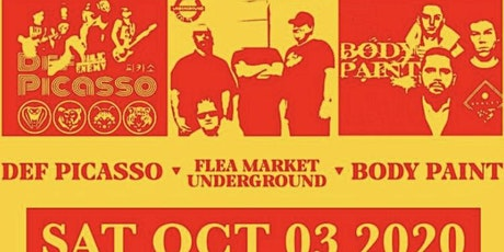 DEF Picasso - Flea Market Underground - Body Paint tickets