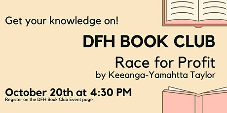 Deliberately Fair Housing Book Club - Race For Profit tickets