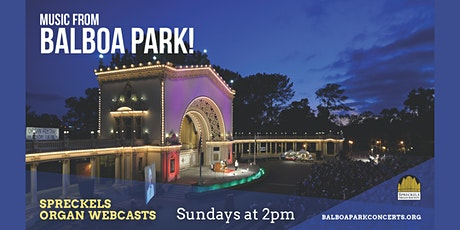Spreckels Organ Society Webcasts tickets
