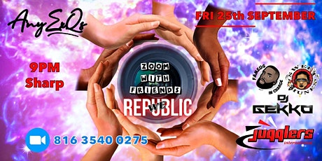 Any Ex Q's Presents Zoom With Friends - WE Republic tickets