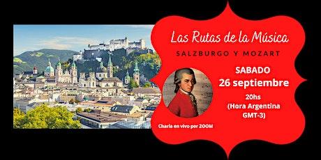Las Rutas de la Música: Salzburgo y Mozart entradas
