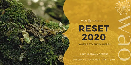 RESET 2020 - Where to from Here? tickets