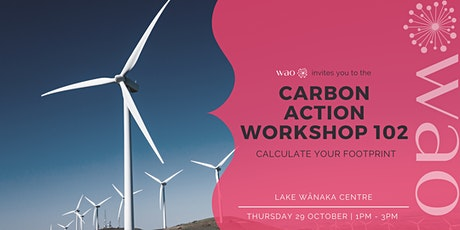 Climate Action Workshop 102 - Calculate Your Footprint tickets