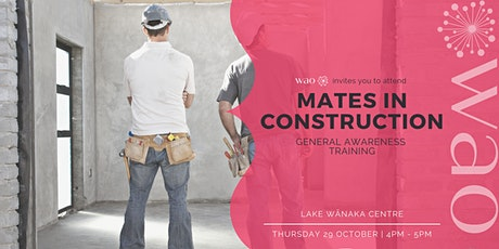 Mates in Construction - General Awareness Training tickets