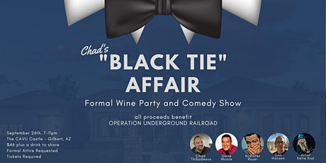 """Chad's """"Black Tie Affair"""" - Formal Party and Comedy Show tickets"""