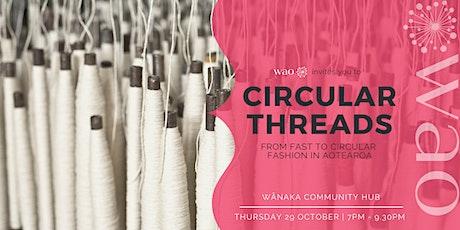 Circular Threads - From Fast to Circular Fashion in Aotearoa