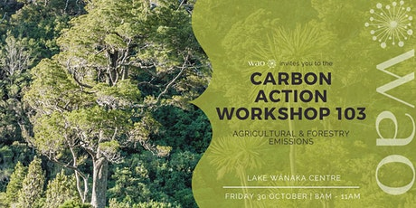 Climate Action Workshop 103 - Agricultural and Forestry Emissions tickets