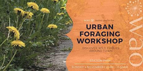 Urban Foraging Workshop - Discover Wild Edibles Around Town tickets