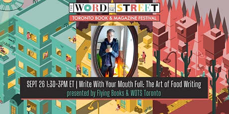 WOTS presents: The Art of Food Writing with Chris Nuttall-Smith tickets