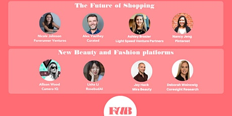 FAB Fashion & BeautyTech 9th meeting in San Francisco WEBINAR. Founders/VCs tickets