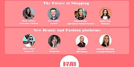 FAB Fashion & BeautyTech 9th meeting in San Francisco WEBINAR. Founders/VCs tickets