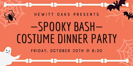 Hewitt Oaks' Spooky Bash & Costume Dinner Party tickets