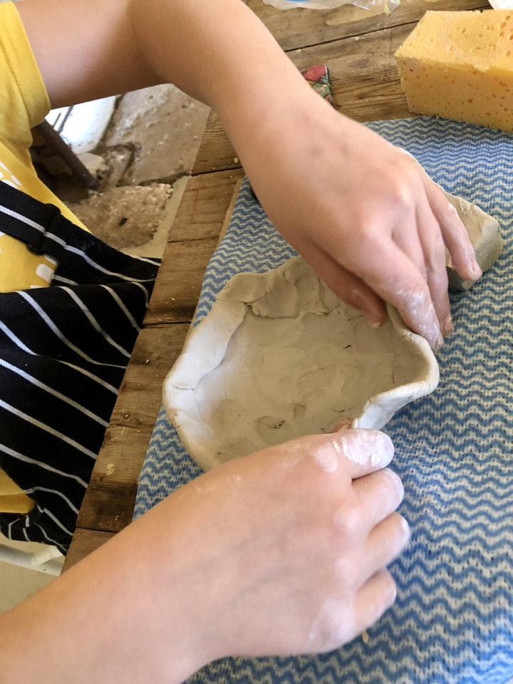 CHILDREN'S POTTERY WORKSHOP - at the Art House image