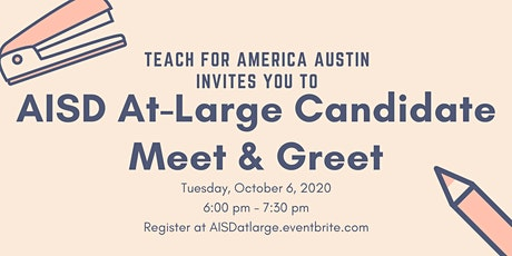Austin ISD At-Large Candidate Meet & Greet tickets