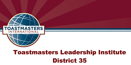 District 35 Winter Toastmasters Leadership Institute 2020 tickets