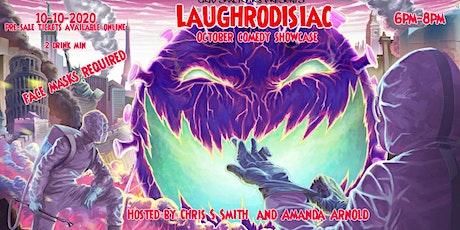 Laughrodisiac October comedy special tickets