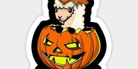 Alpaca Halloween tickets