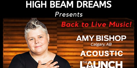 Amy Bishop Acoustic - Back to Live Music tickets