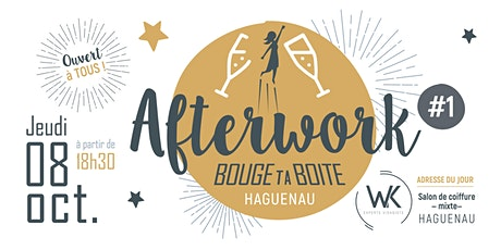 INVITATION AFTERWORK #1 08/10/2020 billets