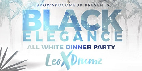 Black elegance All white affair tickets