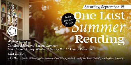 One Last Limited-Attendance Reading for the Summer ON ZOOM tickets