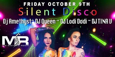 Friday Pride Atlanta Glow Party Silent Disco Comedy Show tickets