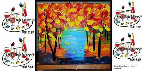 Thursday Eve Paint and Sip (Only $25) tickets
