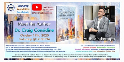 Meet The Author Featuring Dr. Craig Considine