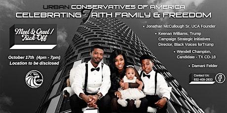 Celebrating Faith Family & Freedom tickets