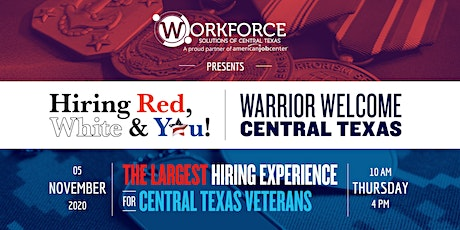 Hiring Red White & You: Warrior Welcome Central Texas! tickets